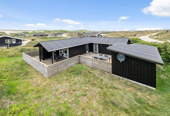 Urgemütliches Ferienhaus mit Sauna und geschlossener Terrasse