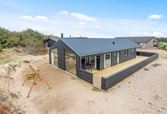Modernes 5 Sterne-Ferienhaus, Strandnah mit Hund