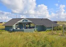 Qualitätshaus mit großem Gefrierschrank an den Dünen