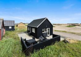 Ferienhütte mit gratis Strom und schöner Terrasse. Kat. nr.:  F4039, Langsand 103;
