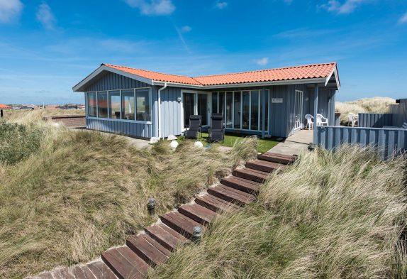 Gemütliches Ferienhaus mit toller Lage und Meerblick