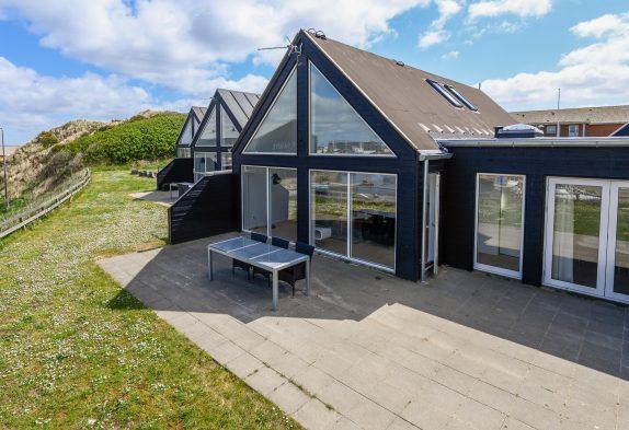 Modernes Ferienhaus mit Panoramaaussicht