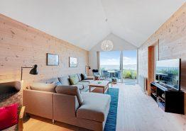 Feriehus med sauna, spa og fjordudsigt i hjertet af Hvide Sande (billede 3)