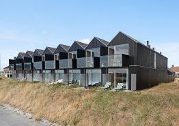 Reihenhaus-Apartment direkt in Hvide Sande mit Fjordblick und Sauna. Kat. nr.:  F4817, Slusen 21;