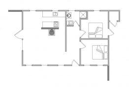 Renoviertes Ferienhaus in Hvide Sande, strand- und centrumsnahe Lage (Bild 2)