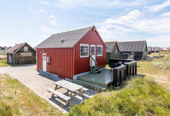 Moderne Fischerhütte mit Terrasse - Esmark