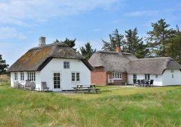Stråtækt hus i oprindelig stil og med super beliggenhed. Kat. nr.:  G5312, Holmsland Klitvej 181;