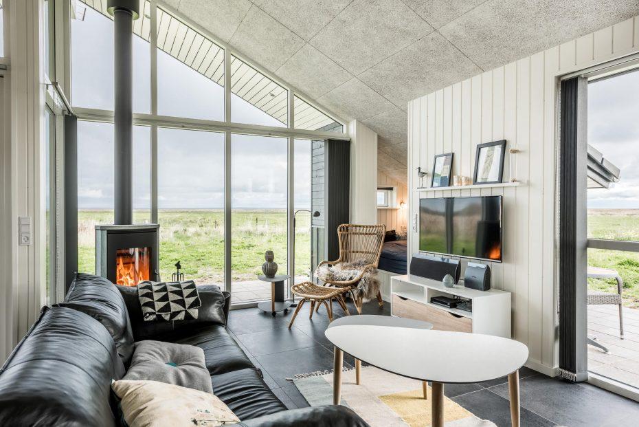 sommerhaus mit fjordblick zwei b dern und whirlpool. Black Bedroom Furniture Sets. Home Design Ideas