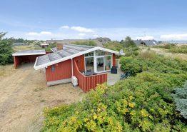 Gemütliches Sommerhaus nah am Fjordhafen in Nr. Lyngvig