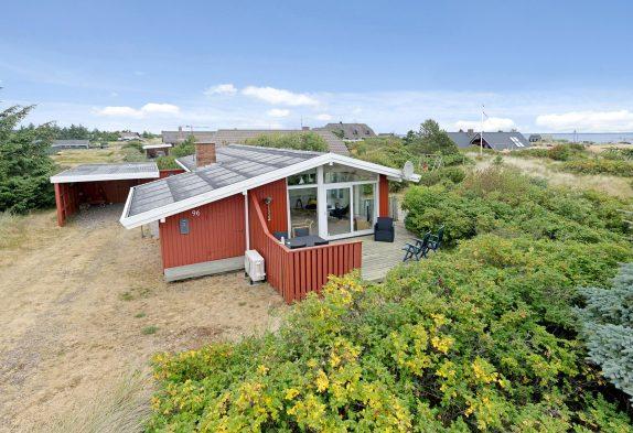 Hyggeligt sommerhus tæt på fjordhavn i Nr. Lyngvig