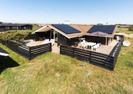 Gemütliches Ferienhaus mit Kamin in den Dünen (Bild 1)