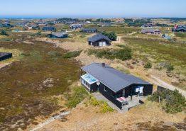 Schönes Sommerhaus mit tollem Blick über die Dünen