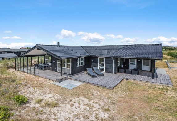 Luxusferienhaus dicht am Strand und mit Sauna und Whirlpool