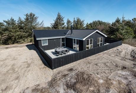 Ikkeryger-hus med spa, sauna og lukket terrasse
