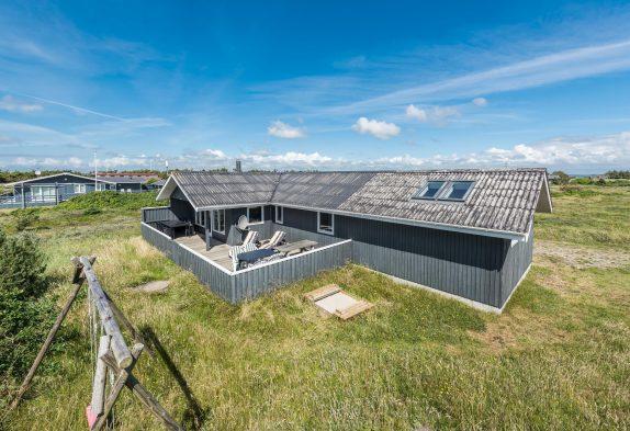 Geräumiges Ferienhaus mit geschlossener Terrasse