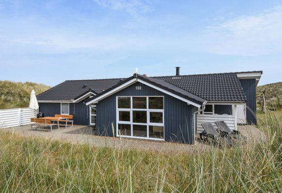 Gepflegtes Ferienhaus in Klegod, 8 Personen, 2 Hunde, Sauna