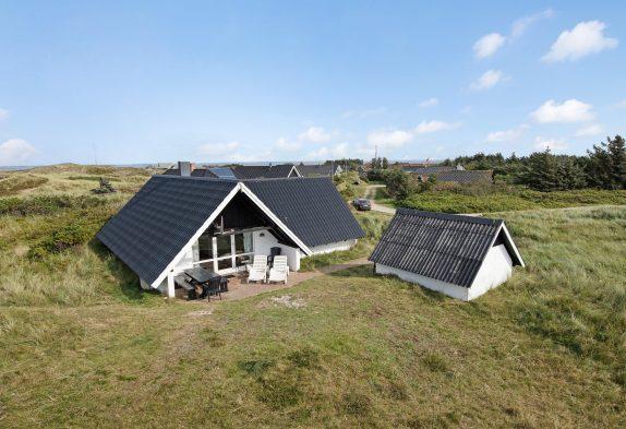 Gemütliches Ferienhaus mit schöner Terrasse und Sauna
