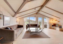 Ruhig gelegenes Ferienhaus mit Blick auf die Dünen (Bild 3)