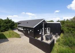 Moderne feriehus, skønne terrasser, super beliggenhed