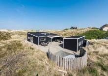 Superflot luksussommerhus 100 meter fra Vesterhavet