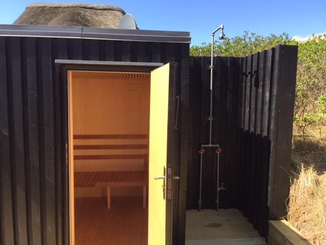 Lækkert Stilfuldt Hus Med Udendørs Sauna Og Spa