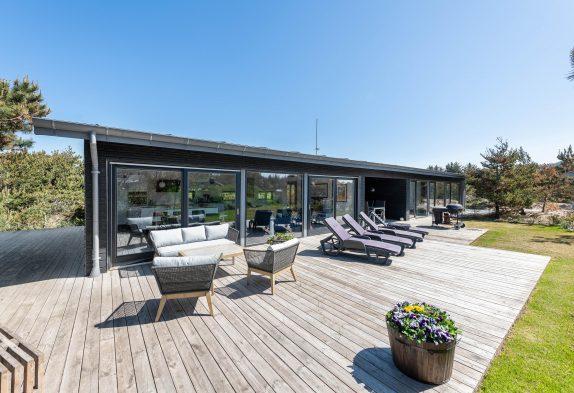 Modernes Ferienhaus zum entspannen, nahe dem Strand