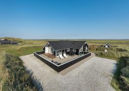 Ferienhaus mit großer und geschlossener Terrasse