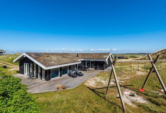 Schönes Poolhaus in den Dünen, nah am Strand und mit Fjordblick
