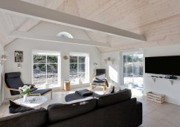 Modernes Reetdachhaus nur 400 m zum Strand, Hund erlaubt (Bild 3)