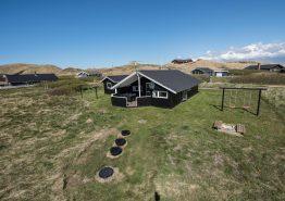 Ferienhaus mit eingezäunter Terrasse und Hunden erlaubt