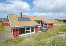 Sommerhus i Houvig med spa, sauna og internet. Kat. nr.:  J6859, Mågedalen 57;
