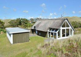 Haus mit Reetdach auf Naturgrundstück im Sneppedalen