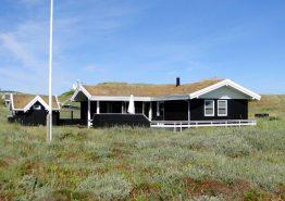 Hus på skøn naturgrund med god terrasse tæt på klitter