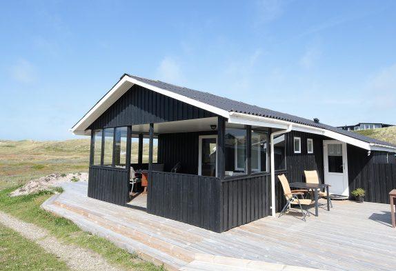 Schönes Ferienhaus in guter Lage, dicht an der Nordsee