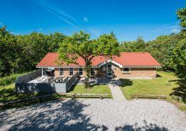 Haus in ruhiger und geschützter Lage nicht weit vom Meer. Kat. nr.:  K6059, Birkealle 3;