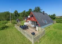 Ferienhaus für 6 Personen mit geschlossener Terrasse