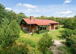 Dejligt feriehus med sauna på afskærmet naturgrund