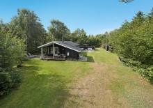 Ferienhaus mit schönen, windgeschützten Terrassen. Kat. nr.:  K6539, Birkealle 4;