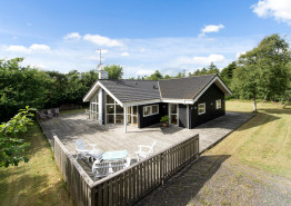 Gepflegtes Holzhaus an der Nordsee dicht bei Søndervig