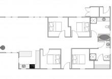 Feriehus med gode terrasser, beliggenhed nær fiskesø og med 12 timer gratis fiskeri (billede 2)