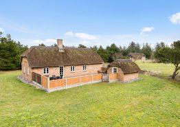 Gemütliches Reetdachhaus auf großem Naturgrundstück im ruhigen Vester Husby