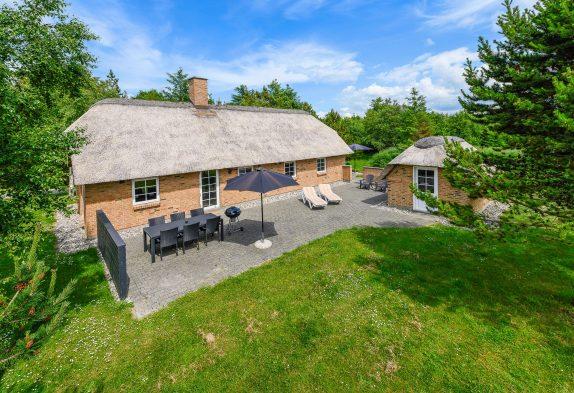 Sommerhus med sauna og spa til 6 personer i Vester Husby