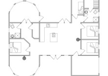 Tolles Ferienhaus mit Außenwhirlpool und Außendusche (Bild 2)