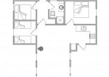 Ferienhaus in geschützter Lage für 6 Personen (Bild 2)