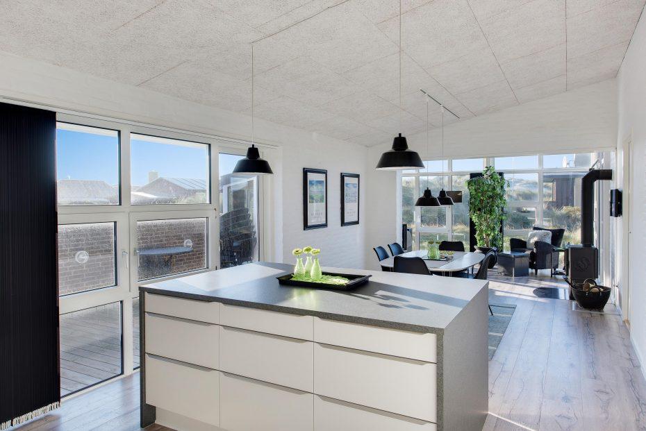 ferienhaus f r 6 personen mit kurzem abstand zum strand esmark. Black Bedroom Furniture Sets. Home Design Ideas