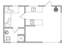 Kleines aber feines Ferienhaus für 2 Personen (Bild 2)