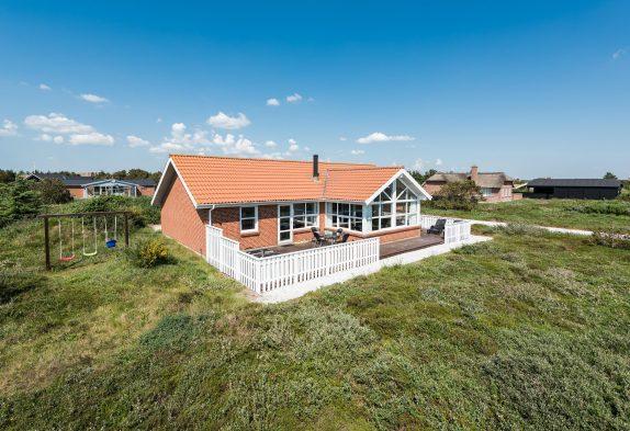 Gutes und geräumiges Ferienhaus mit Terrasse