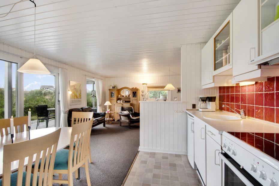 kleines ferienhaus an der nordsee direkt zentrum von s ndervig. Black Bedroom Furniture Sets. Home Design Ideas