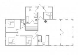 Ferienhaus mit Wintergarten & geschlossenem Sonnenhof (Bild 2)