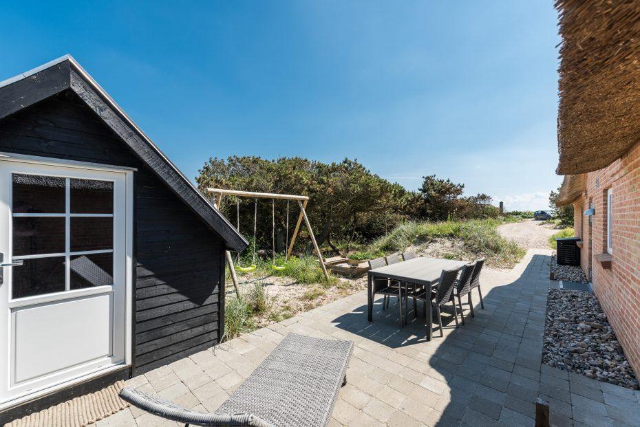 Ferienhaus mit tollen terrassen nahe der nordsee - Terrassen whirlpool ...